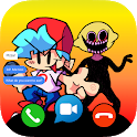 Friday Night Funkin  Video Call & Chat Music Game icon