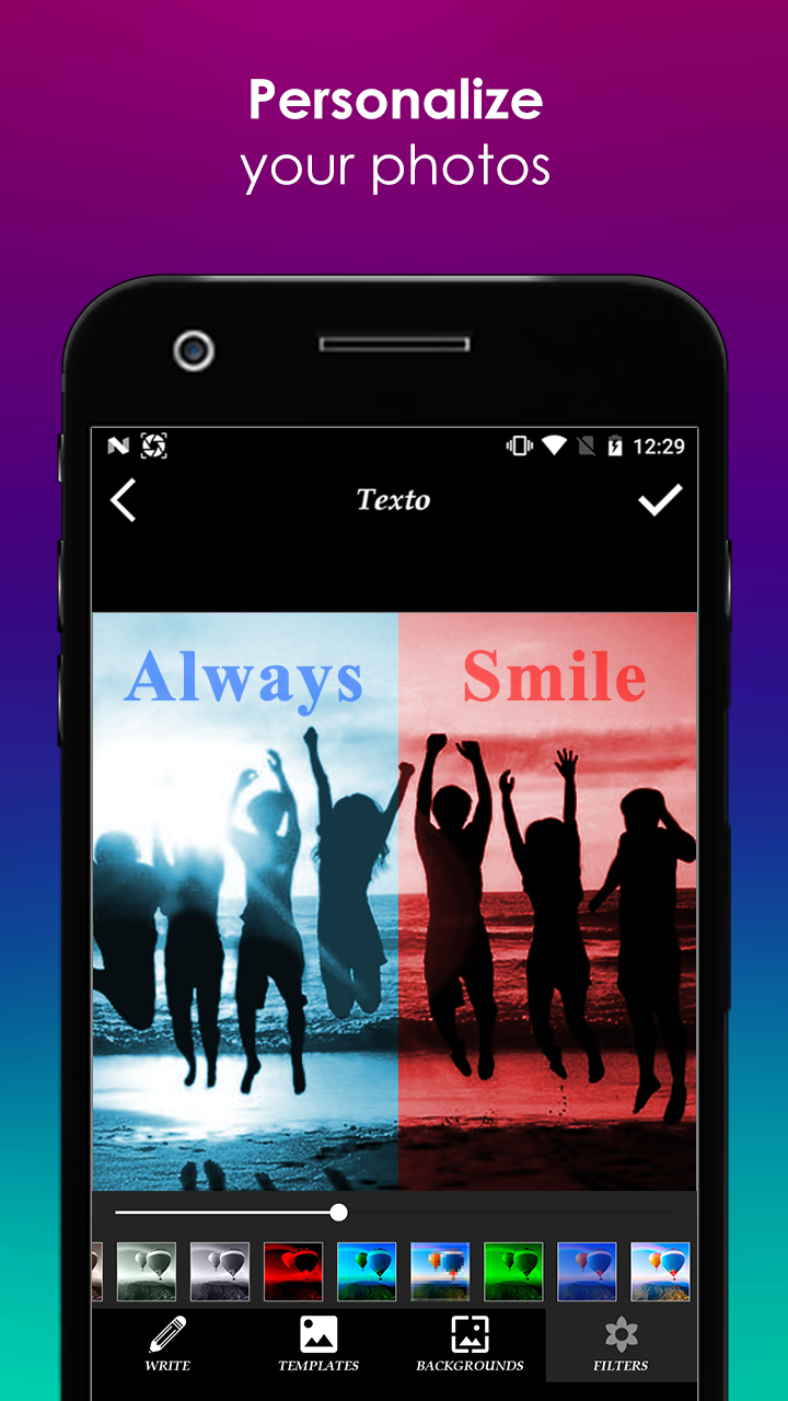 TextO Pro - Write on Photos Screenshot 1