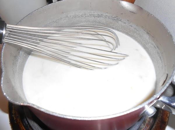 In a medium saucepan, melt butter; add flour, salt and pepper, and minced onion....