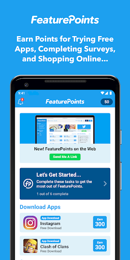FeaturePoints: Get Rewarded 8.8.9 screenshots 1