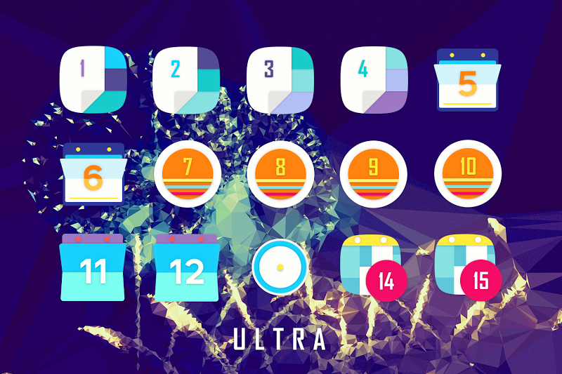 ULTRA - 80s Vaporwave Icon Pack Screenshot 16