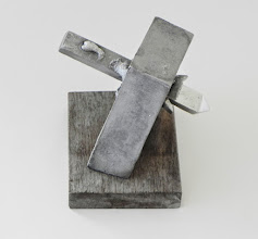 Photo: DIDN'T SEE THAT COMING! - 9H X 6W X 5D Lost Foam Aluminum Casting, Weathered Ipe - View 4
