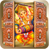 Ganesh Ji Door Lock Screen