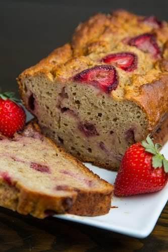Strawberry Greek Yogurt Banana Bread Recipe