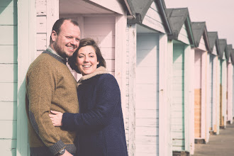 Photo: Recent image taken from Lucy & Bill's pre-wedding location photography. The location is a very chilly Southsea seafront in Portsmouth.  Visit us @ www.asrphoto.co.uk for details.