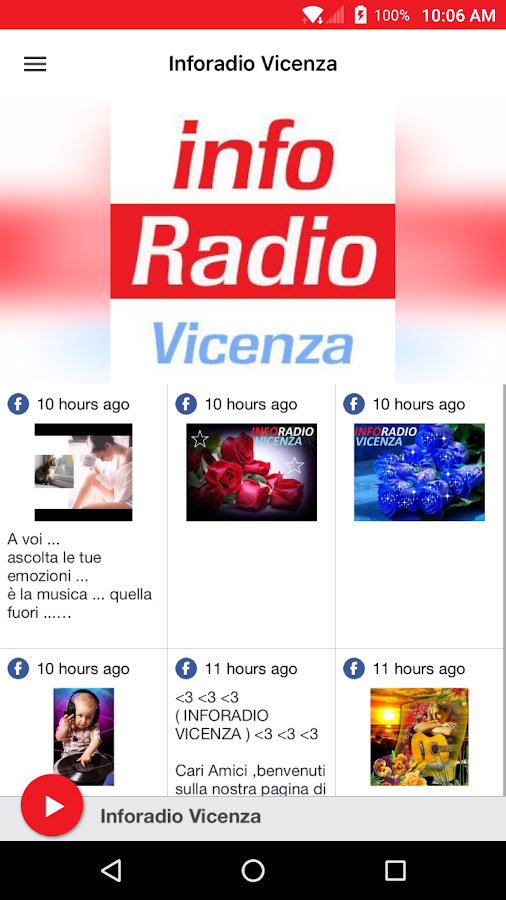 Inforadio Vicenza- screenshot