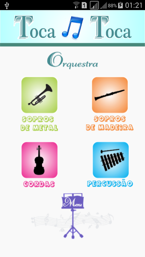TocaToca Orquestra- screenshot