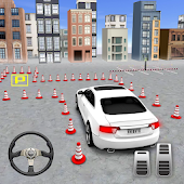 Modern Car Drive Parking 3d Game - TKN Car Games Icon