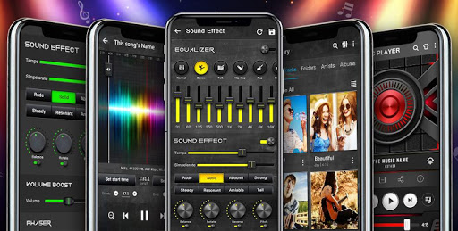 Screenshot for Music Player - Audio Player with Best Sound Effect in United States Play Store