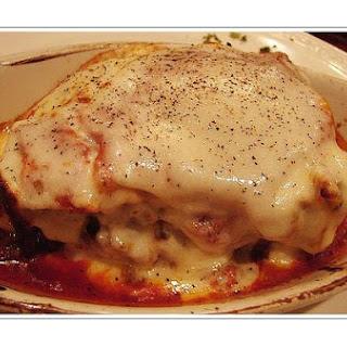 Veal Lasagna.