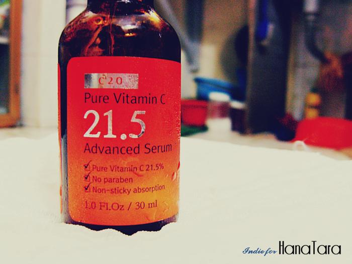 serum vitamin c 21.5 có tốt không