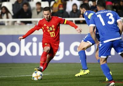 """Eden Hazard : """"On veut se qualifier le plus rapidement possible"""""""