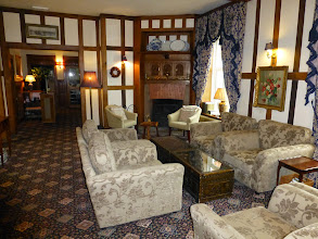 Photo: The reception hall at the Overton Grange