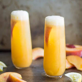 How to Make a Peach Bellini.