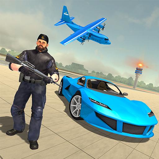 Police Car Transporter Plane – Police Crime City