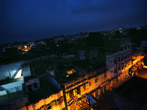 Photo: view from the window of Hotel ~窓からの眺め ~  in India