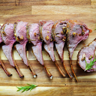 Rosemary and Garlic Rack of Lamb.