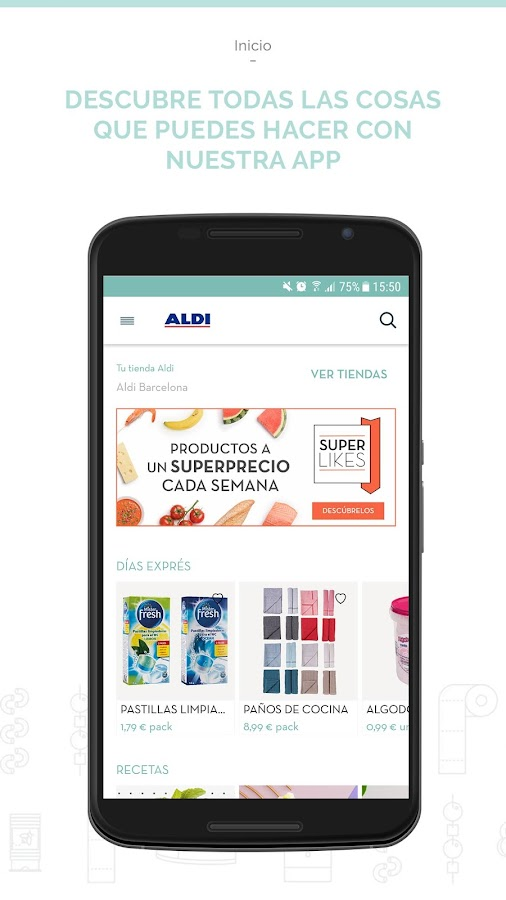 ALDI SUPERMERCADOS- screenshot