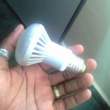 Photo: LED light bulb