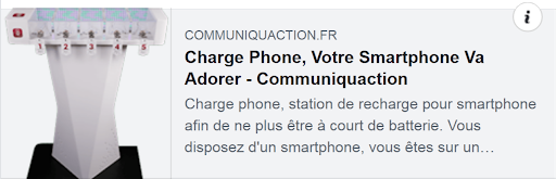 lien article charge phone par communiquaction