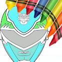 Hero Rangers Coloring Book icon
