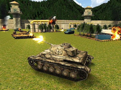 World War Tank Battle 3D apk