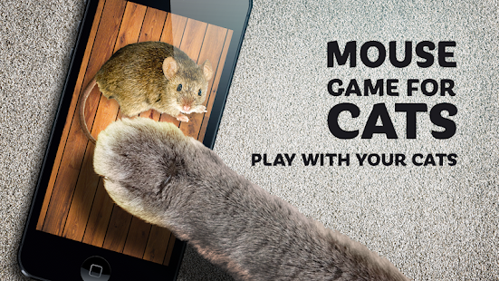 Mouse game toy for cats - náhled