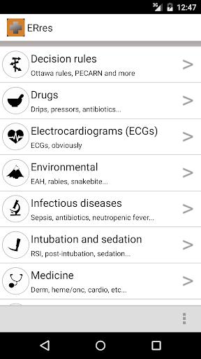 玩免費醫療APP|下載ERres- Emergency Medicine app不用錢|硬是要APP