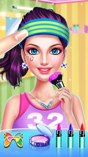 ud83dudc67ud83dudc57Sports Girl Makeup - Keep Fit  screenshots 1