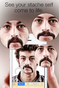 Stacheify - Grow a Mustache- screenshot thumbnail