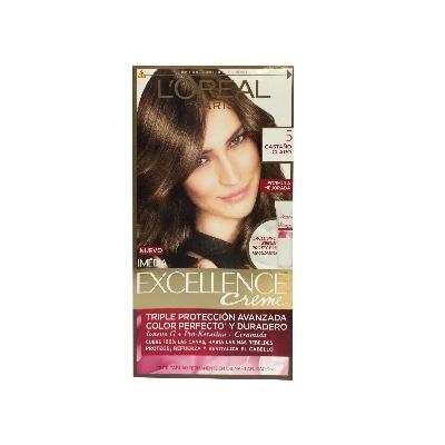 tinte excellence crema kit casta claro 5