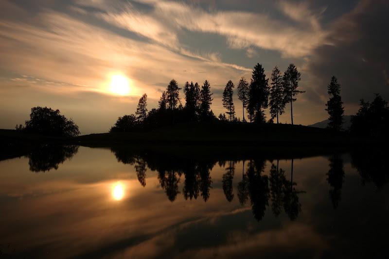 Meglio di un tramonto... solo due tramonti di Stefano Ferrari