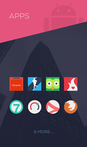 Screenshot for Minimalist - Icon Pack in Hong Kong Play Store