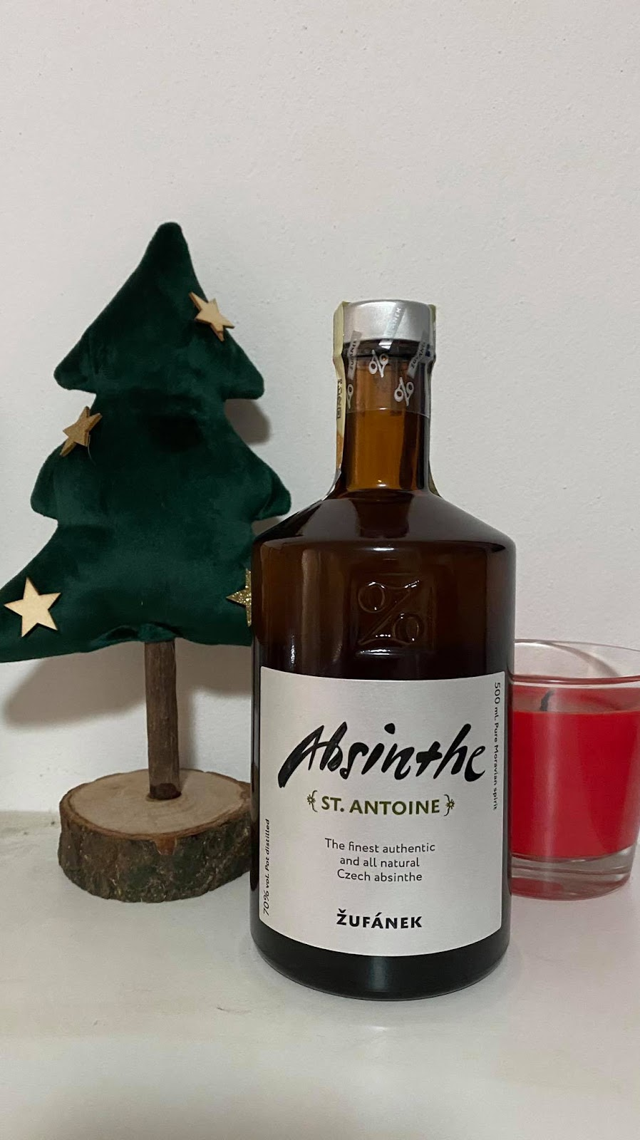 recenze topalkohol: Absinth St. Antoine Žufánek