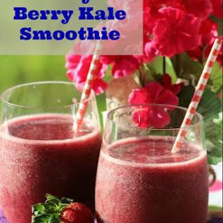 Berry Kale Smoothie.