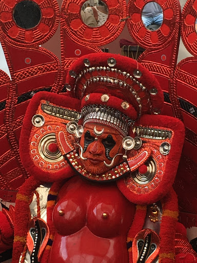Bell Metal Casting: Theyyam performance