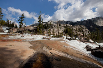 Photo: Cascades at a bend in the Tuolumne River in Yosemite's Grand Canyon of the Tuolumne