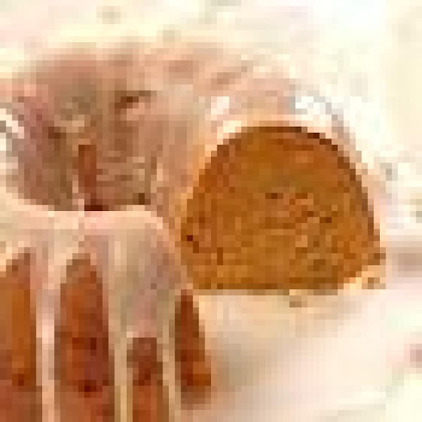 Pumpkin White Chip Spice Cake Recipe