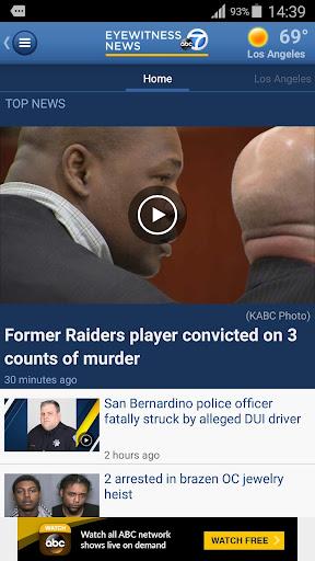 ABC7 Los Angeles Screenshot