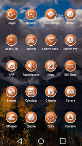 Enyo Orange - Icon Pack screenshot 7