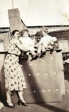 Photo: Frieda Braunhart Brunn, Helene & Stanley Tulman, Henry Brunn