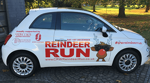 Reindeer Run Car
