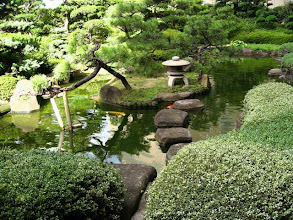 Photo: Jardin zen au Japon