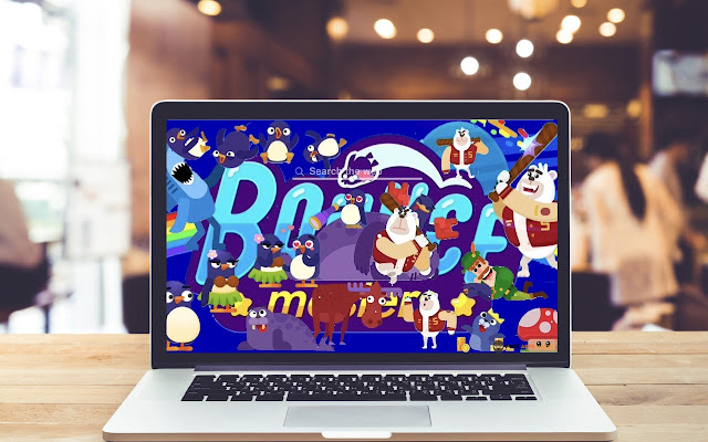 Bouncemasters HD Wallpapers Game Theme