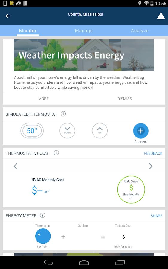 WeatherBug- screenshot
