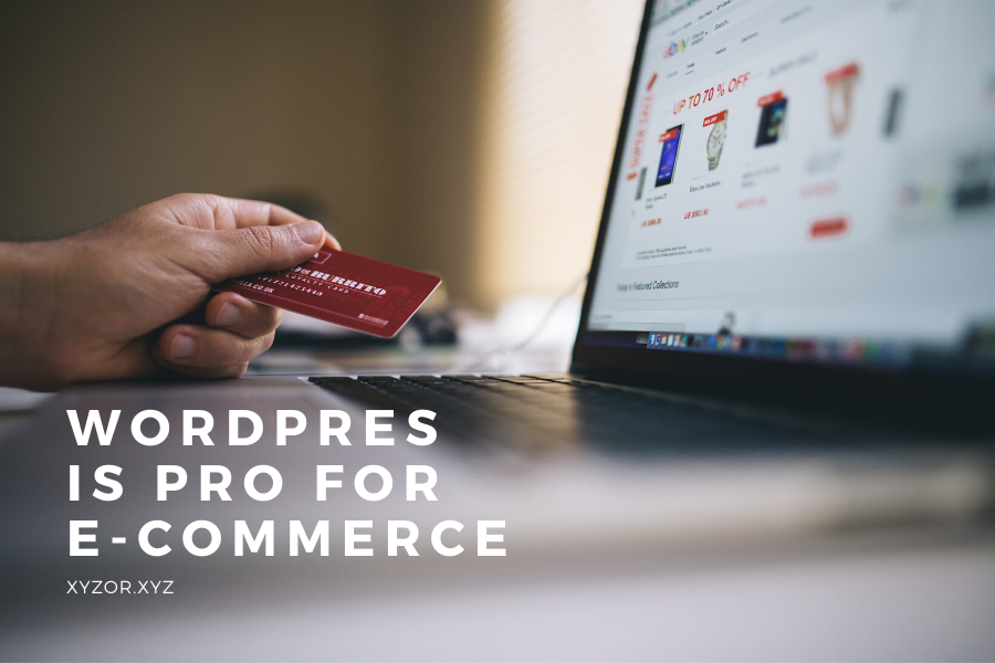 Wordpress is Pro for E-commerce