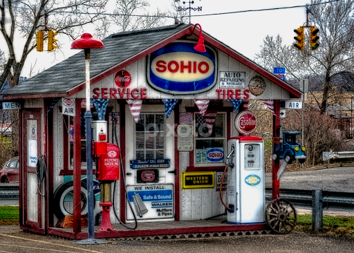 Gas Pump Heaven | Markets & Shops | City, Street & Park | Pixoto