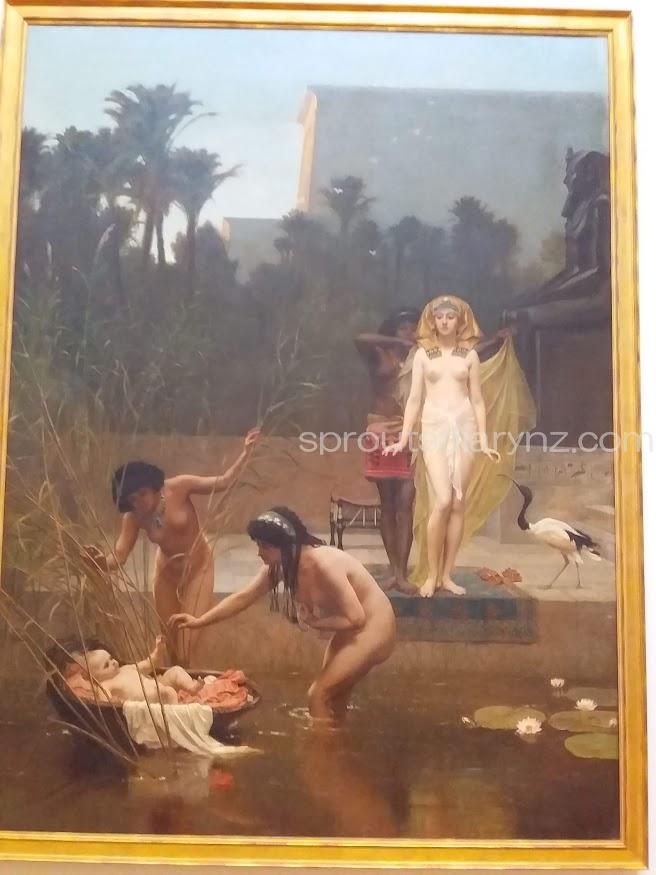 モーセとエジプト王女