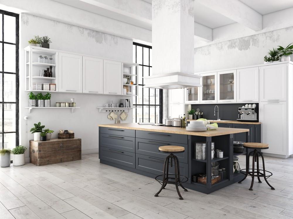cocina industrial blanco
