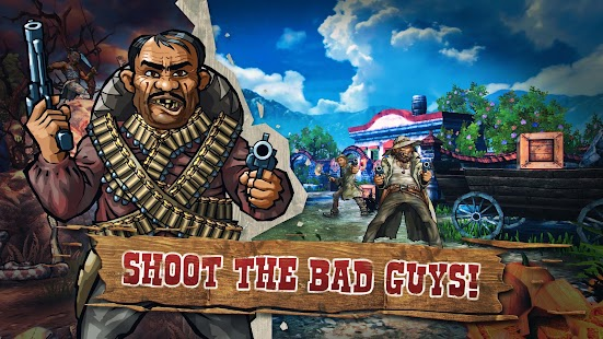 Mad Bullets: Cowboy Shooter Screenshot